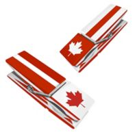 Canada Clothespin Boca Clips® (Set of 2)