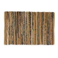 Chindi 2-Foot x 3-Foot Hand-Woven Kitchen Rug in Taupe