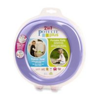 Potette® Plus 2-in-1 Travel Potty and Trainer Seat in Lilac