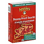 Annie's Homegrown Organic Summer Strawberry Bunny Fruit Snacks (Set of 5)