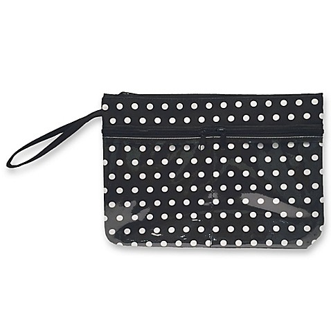 Polka Dot Swimsuit Sack In Black White Bed Bath Amp Beyond