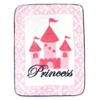 BabyVision® Luvable Friends® High Pile Princess Plush Blanket in Pink