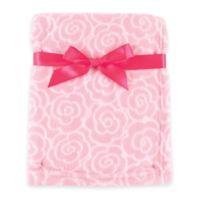 BabyVision® Luvable Friends® Rose Coral Fleece Blanket in Pink