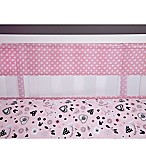 Disney® Minnie Mouse Hello Gorgeous Secure-Me Mesh Crib Liner