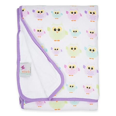 Buy Miracleware Owls Muslin Serenity Blanket From Bed Bath