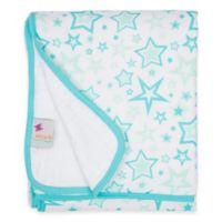 MiracleWare Aqua Stars Muslin Serenity Blanket