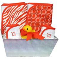 6-Piece Bath Set in Orange