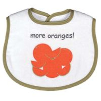Bib-to-Go! Oranges 3-Piece Gift Set