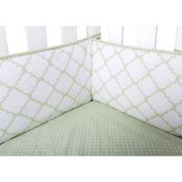 Trend Lab® Sea Foam 4-Piece Crib Bumper Set