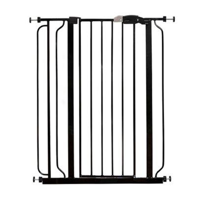 Regalo® Easy Step Extra Tall Walk Through Gate In Black
