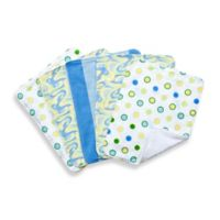 "Trend Lab® 5-Pack Dr. Seuss™ ""Oh the Places You'll Go!"" Burp Cloth Bundle Box Set in Blue"