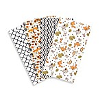 Trend Lab® 4-Pack Friendly Forest Burp Cloth Set