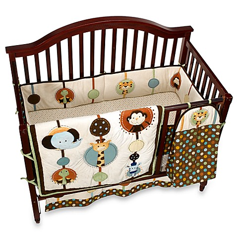 Nojo 174 Jungle Tales 6 Piece Crib Bedding Set Buybuy Baby
