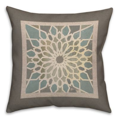 Buy BrownBlue Throw Pillows from Bed BathBeyond