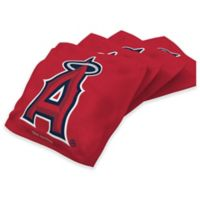 MLB Los Angeles Angels 16 oz. Regulation Cornhole Bean Bags in Red (Set of 4)