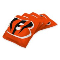NFL Cincinnati Bengals 16 oz. Duck Cloth Cornhole Bean Bags in Orange (Set of 4)