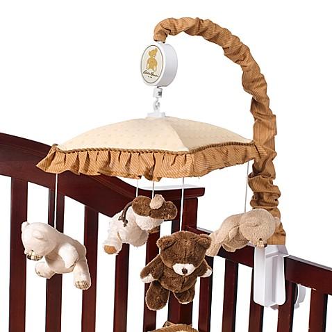 Teddy Bear Musical Crib Mobile by Eddie Bauer® - Bed Bath ...