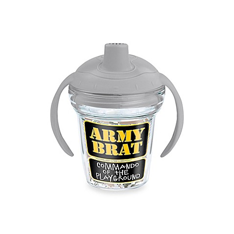 Tervis 174 My First Tervis Army Brat 6 Oz Sippy Design Cup