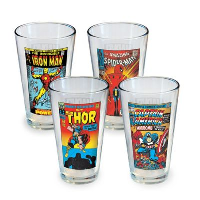 Buy luminarc coca cola 16 ounce vintage can glasses set of 4 from bed bat - Verre coca cola luminarc ...