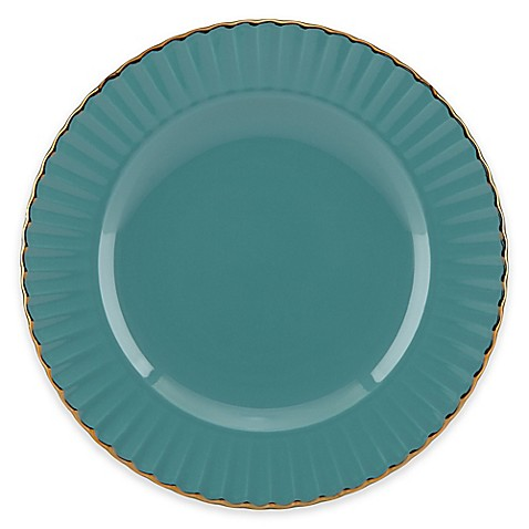 image of Marchesa by Lenox® Shades of Teal Accent Plate