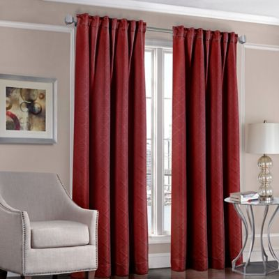 Designersu0027 Select™ Satin Diamond 63 Inch Rod Pocket/Back Tab Window Curtain Part 47