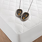 Beautyrest® Microfiber Heated California King Mattress Pad in White