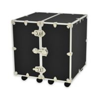 Rhino Trunk and Case™ Medium Urban Wardrobe Trunk in Black