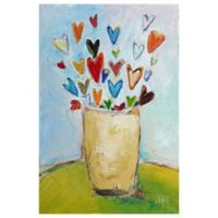 Marmont Hill Bouquet of Love 24-Inch x 36-Inch Canvas Wall Art