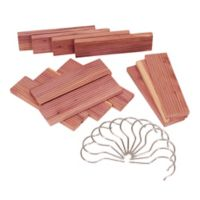12-Pack Milled Cedar Lavender Hang Up Set