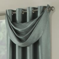 Paradise Waterfall Window Valance in Spa