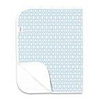 kushies® Deluxe Flannel Octagon Changing Pad in Blue