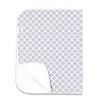 kushies® Deluxe Flannel Lattice Changing Pad in Lilac