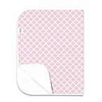 kushies® Deluxe Flannel Lattice Changing Pad in Pink