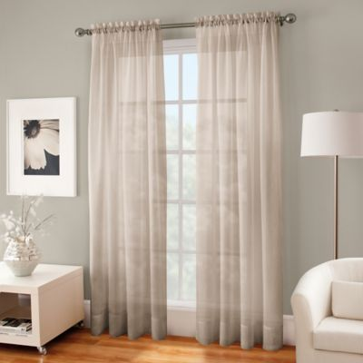 pin off curtain panels pencil sheer light white curtains pleat window linen