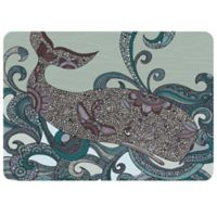 WeatherGuard™ Premium Quality 22-Inch by 31-Inch Valentina Whale Mat