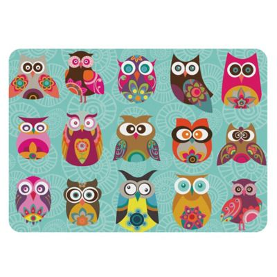 Premium Comfort By Weather Guard™ 22 Inch X 31 Inch Owls Kitchen Mat