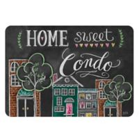 "Premium Comfort by Weather Guard™ 22-Inch x 31-Inch ""Home Sweet Condo"" Kitchen Mat"