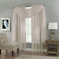 Creston Scarf Valance in Taupe