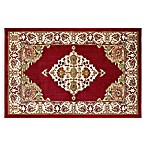 Westwood Medallion 2-Foot 3-Inch x 3-Foot 7-Inch Accent Rug in Red