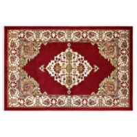 Westwood Floral 3-Foot 1-Inch x 4-Foot 6-Inch Accent Rug in Red