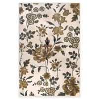 Westwood Floral 3-Foot 1-Inch x 4-Foot 6-Inch Accent Rug in Ivory
