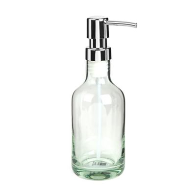 Umbra® Molded Glass Soap Pump in Green