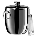 Oggi™ Stainless Steel Insulated Ice Bucket in Black
