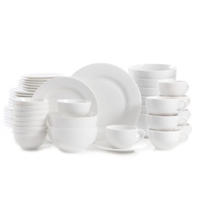 Gibson Home Regent Street 48-Piece Dinnerware Set  sc 1 st  Bed Bath u0026 Beyond & Buy Gibson Stoneware Dinnerware Sets from Bed Bath u0026 Beyond