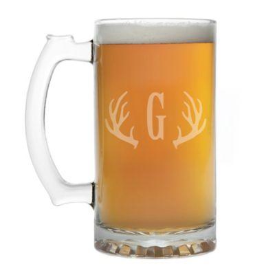 antlers beer mug - Glass Beer Mugs