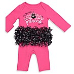 Baby Starters® Size 3M  My Favorite Princess  Tutu Coverall in Pink/Black