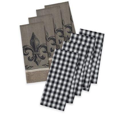 Buy Fleur De Lis Kitchen Towels From Bed Bath & Beyond