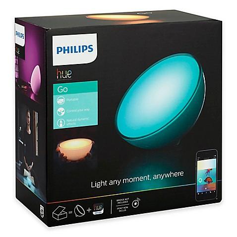 philips hue go wireless light bed bath beyond. Black Bedroom Furniture Sets. Home Design Ideas