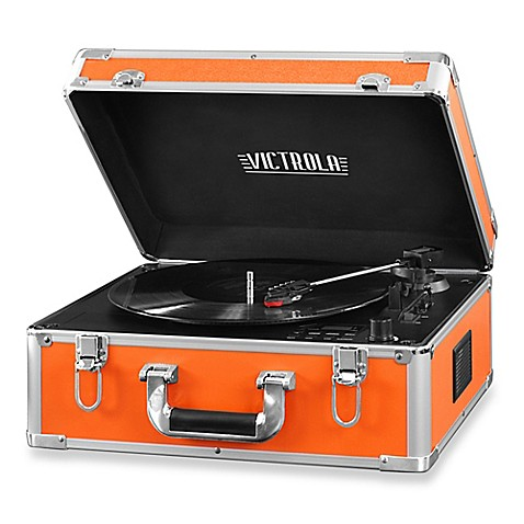 Victrola Full Size Suitcase Record Player With Cd Player