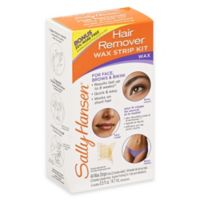 Sally Hansen® 34-Count Hair Remover Wax Strip Kit for Face Brows and Bikini